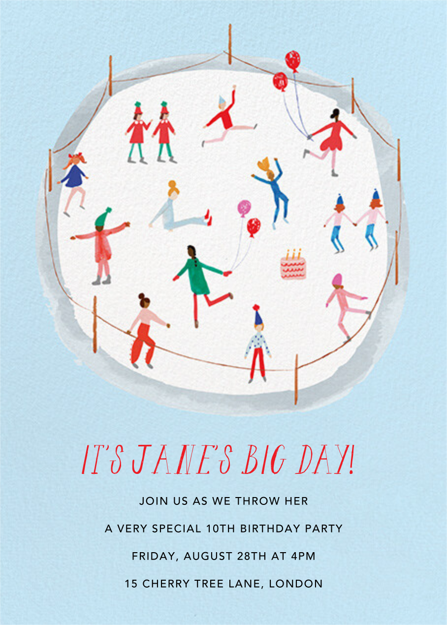 Do a Figure Eight - Mr. Boddington's Studio - Kids' birthday