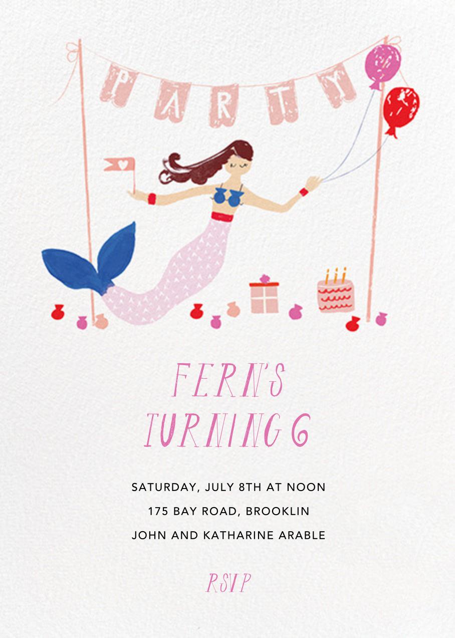 Party's Going Swimmingly - Fair - Mr. Boddington's Studio - Kids' birthday