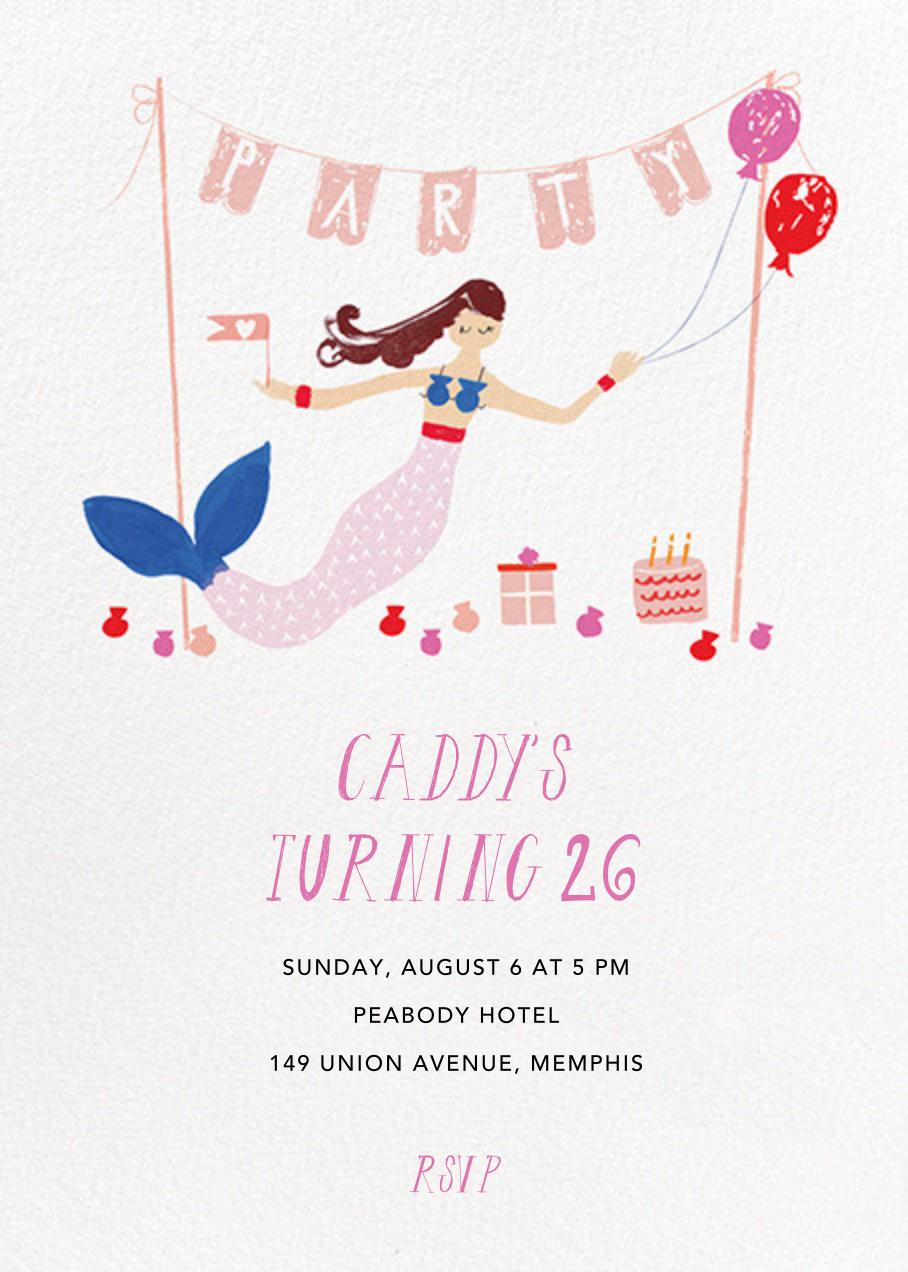 Party's Going Swimmingly - Fair - Mr. Boddington's Studio - Adult birthday
