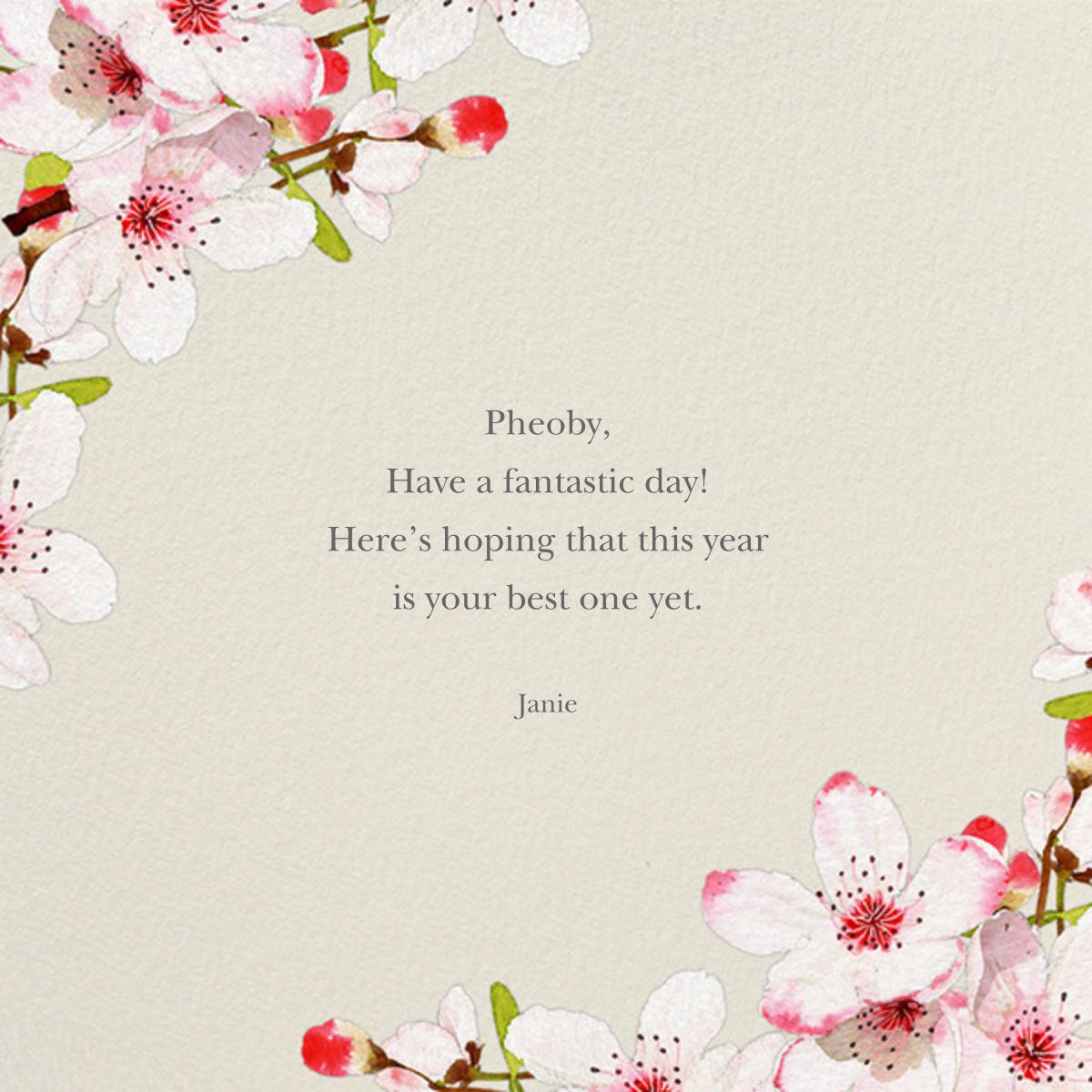 Blushing Blossoms - Felix Doolittle