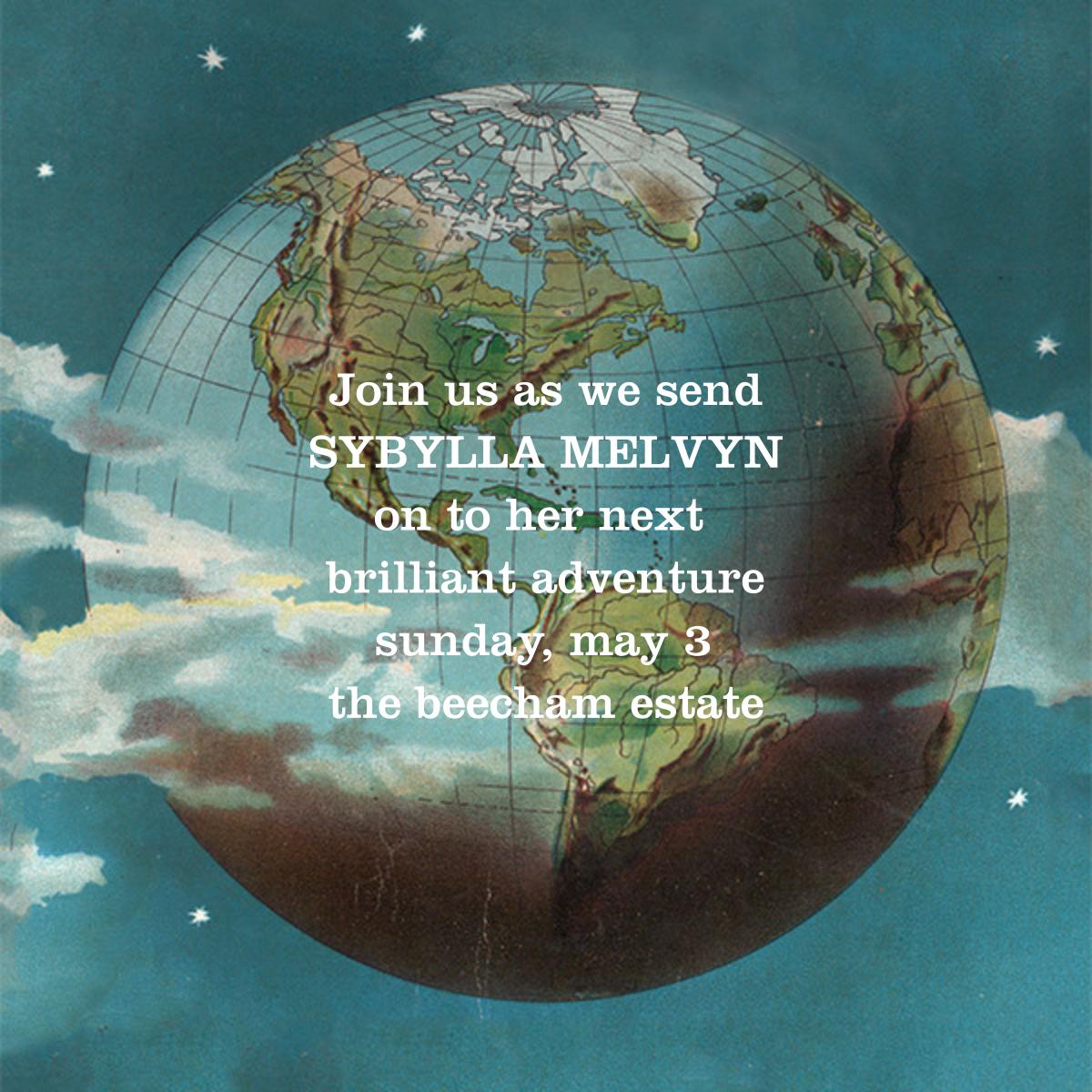 Globe - John Derian - Farewell party