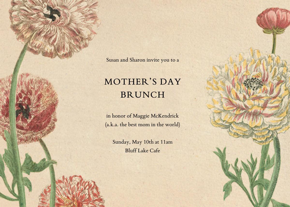 Wild Ranunculus - John Derian - Mother's Day