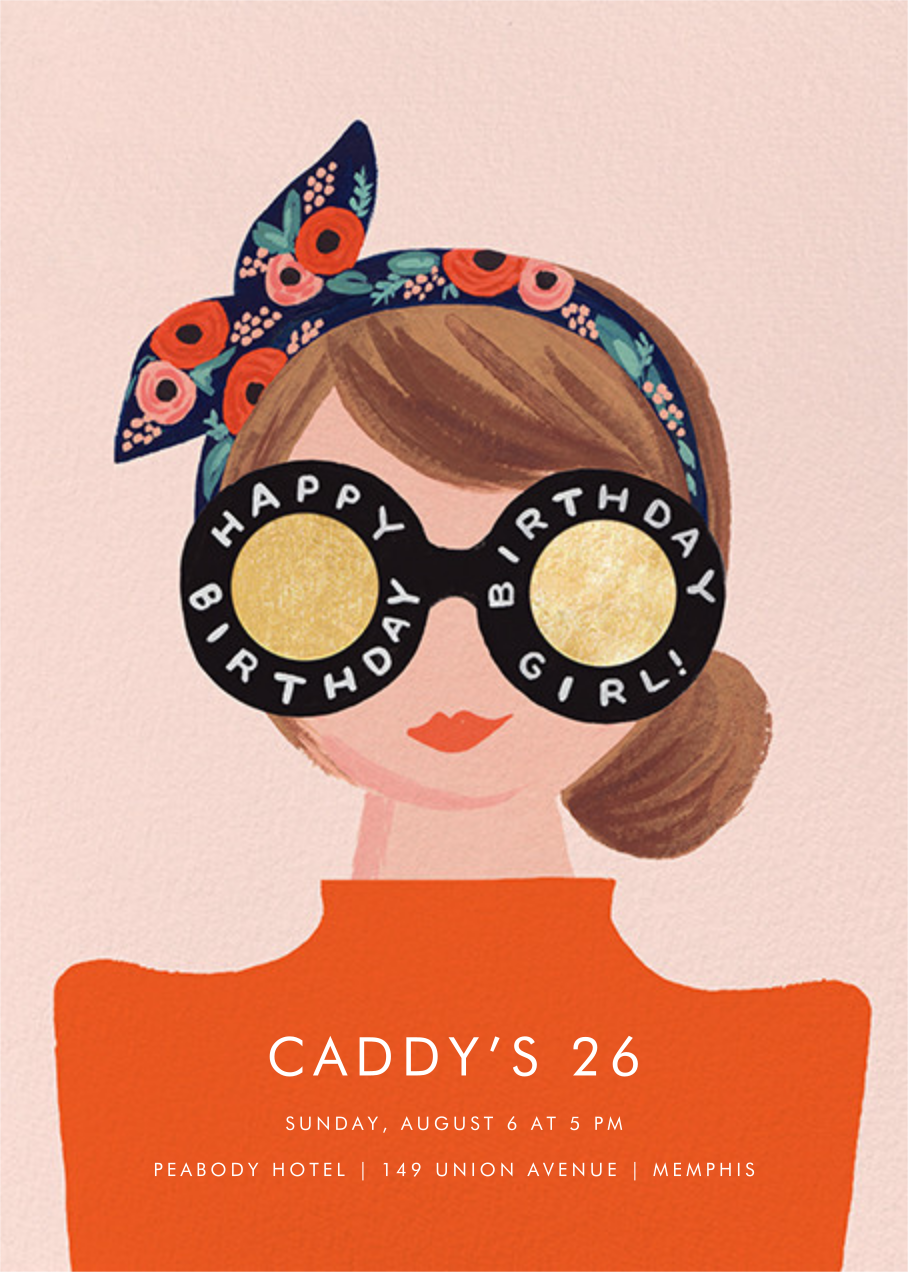 Birthday Shades - Rifle Paper Co. - Adult birthday