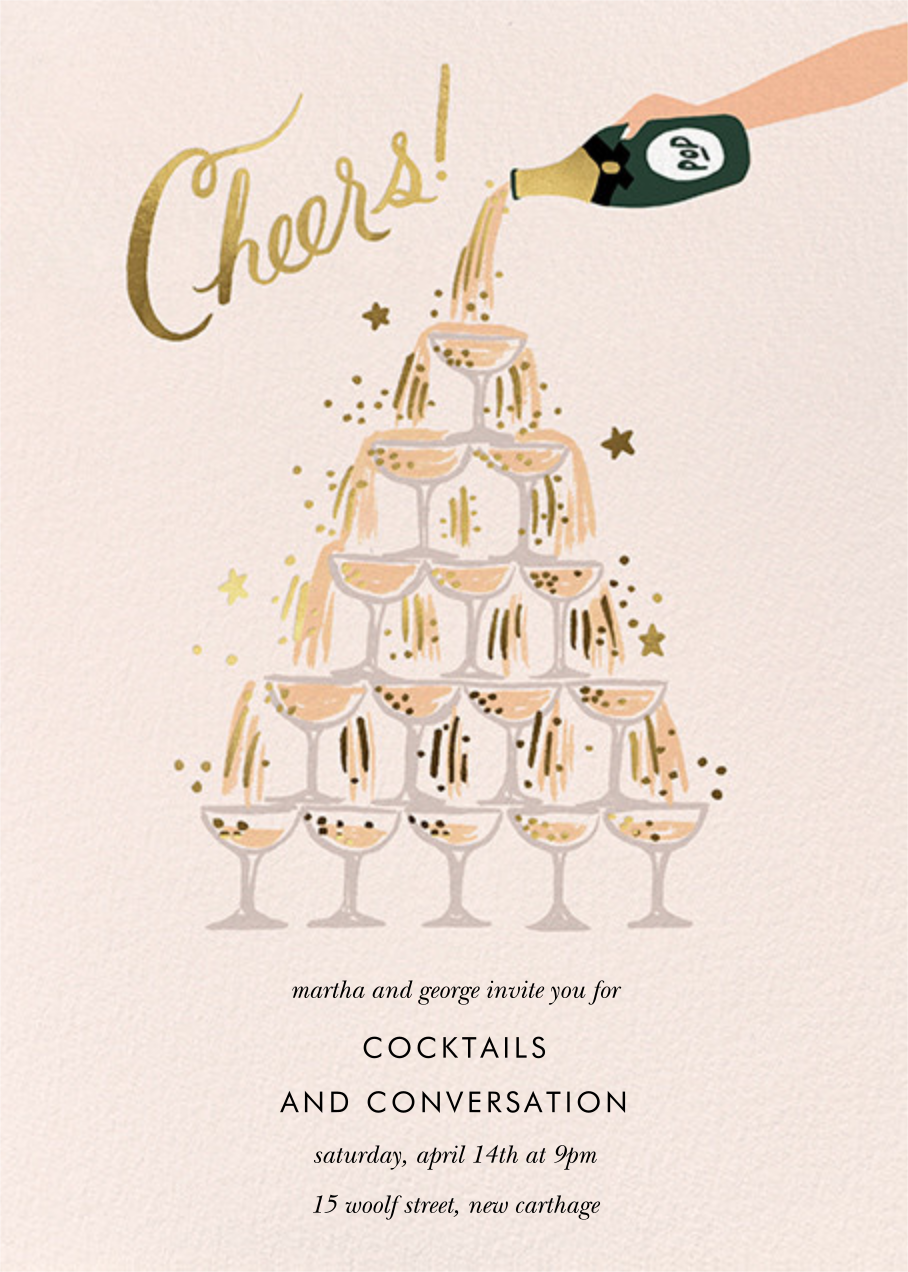 Champagne Tower - Rifle Paper Co. - General entertaining