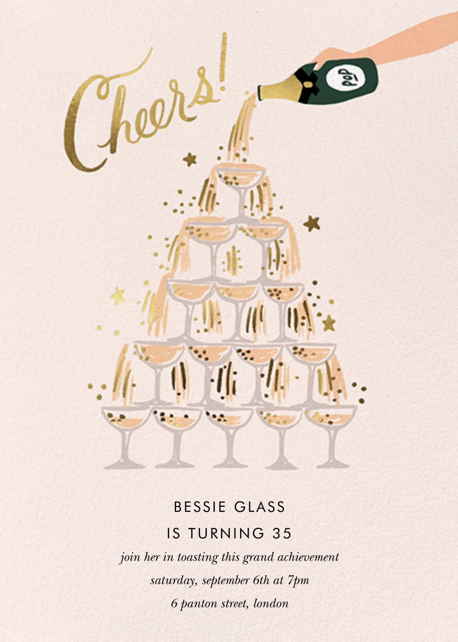 Champagne Tower - Rifle Paper Co. - Milestone