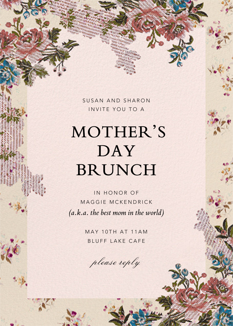 Manon - Brock Collection - Mother's Day