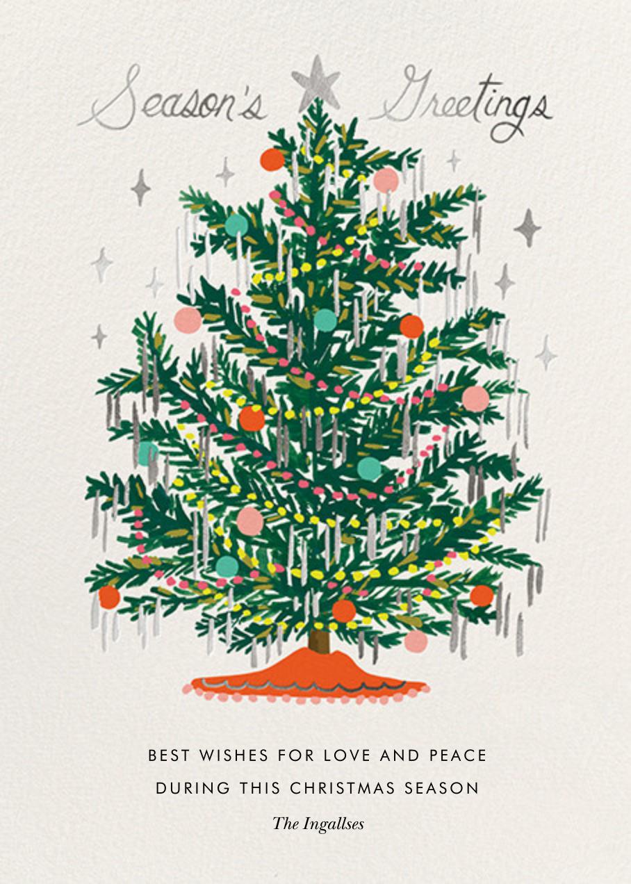 Tinsel Tannenbaum - Rifle Paper Co. - Christmas