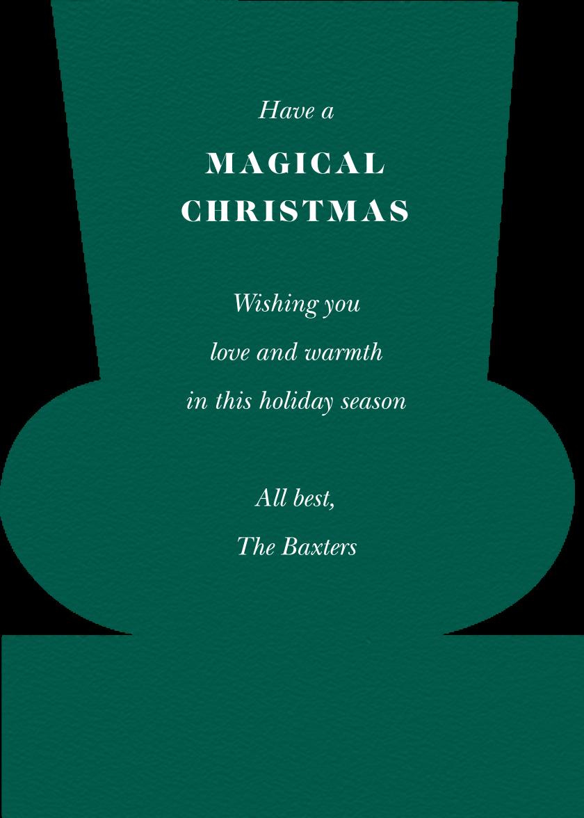 Nutcracking Christmas - Meri Meri - Christmas - card back