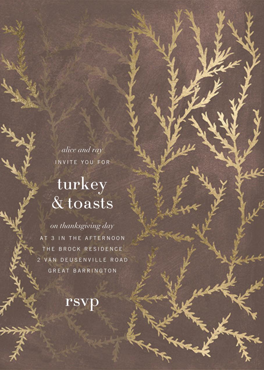 Woodcut - Walnut - Kelly Wearstler - Thanksgiving