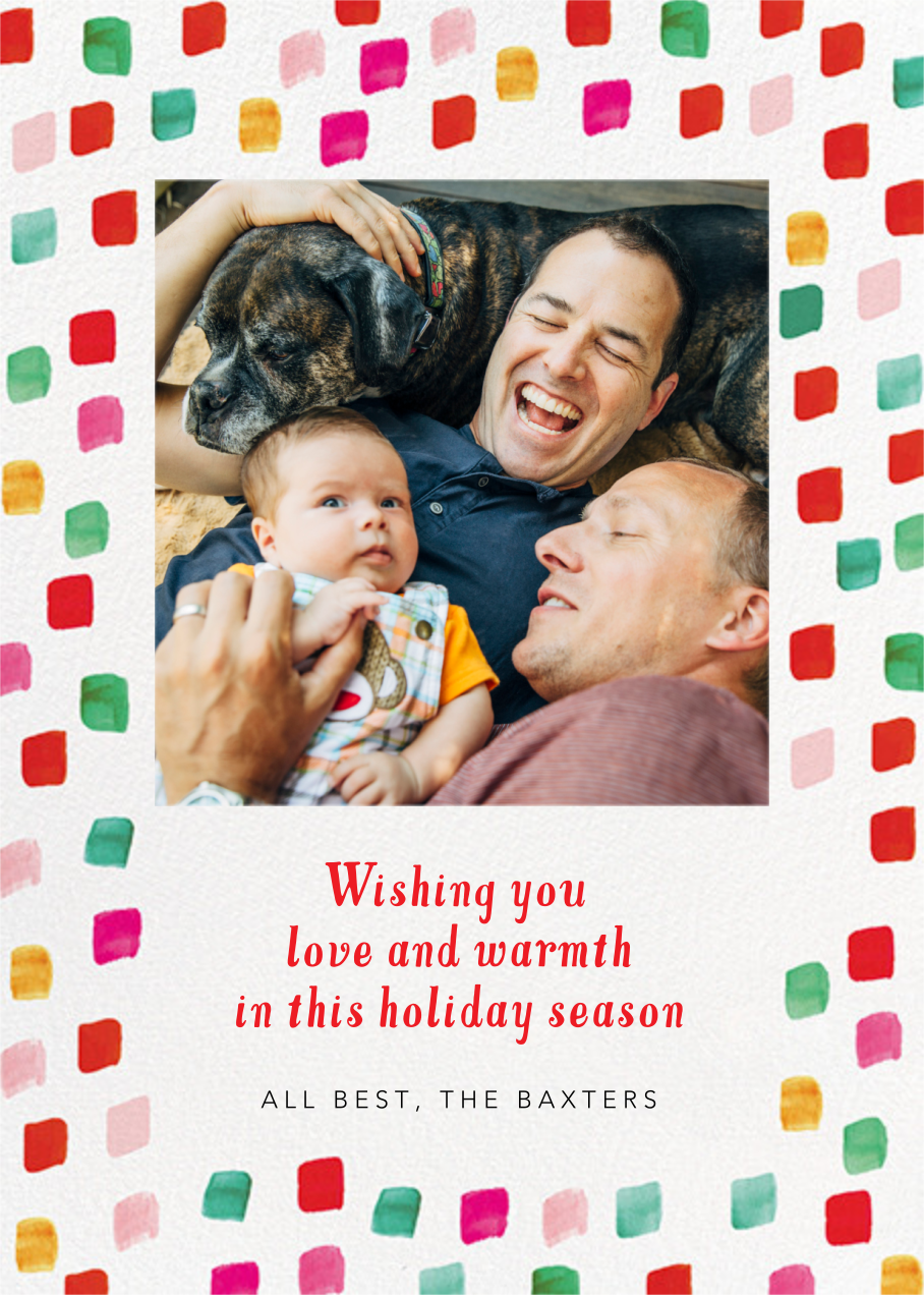 Holiday Palette Photo - Mr. Boddington's Studio - Holiday cards