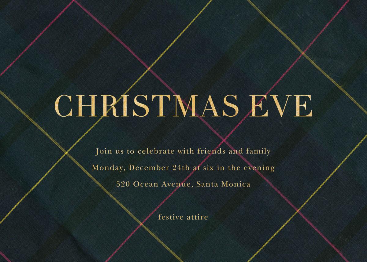 Mod Tartan - Sugar Paper - Christmas party