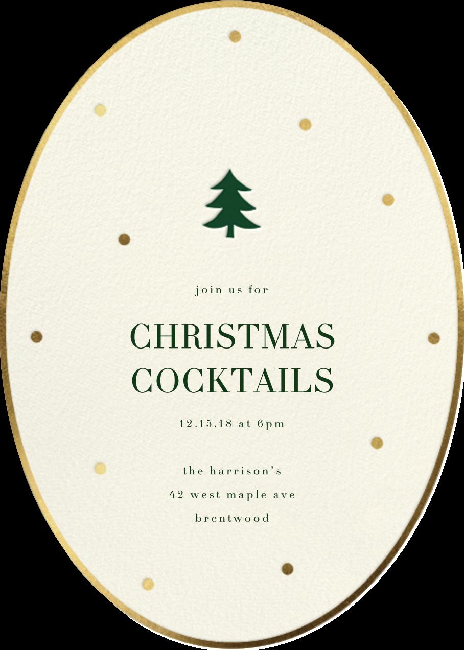 Trim Little Tree - Sugar Paper - Christmas party