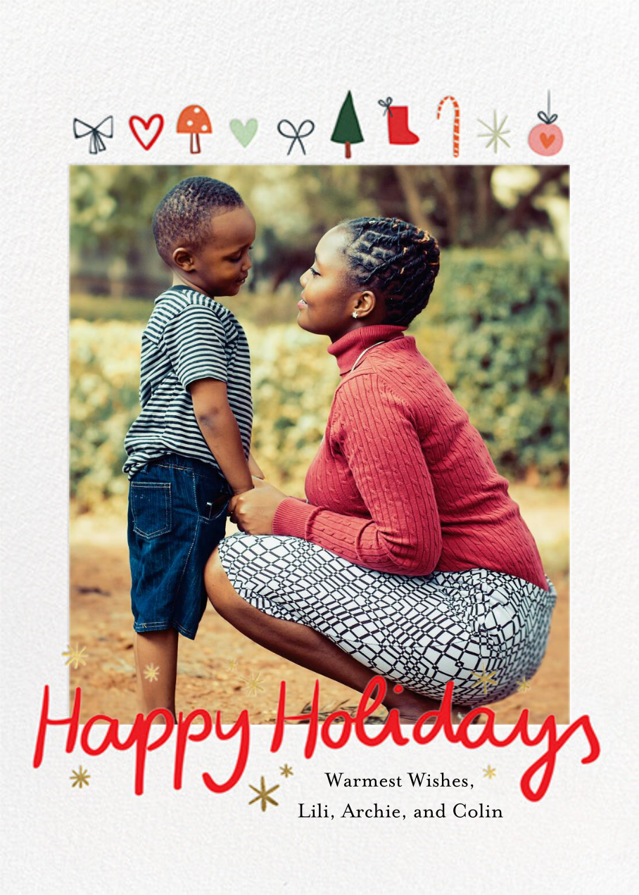 Holiday Tidings - Little Cube - Holiday cards