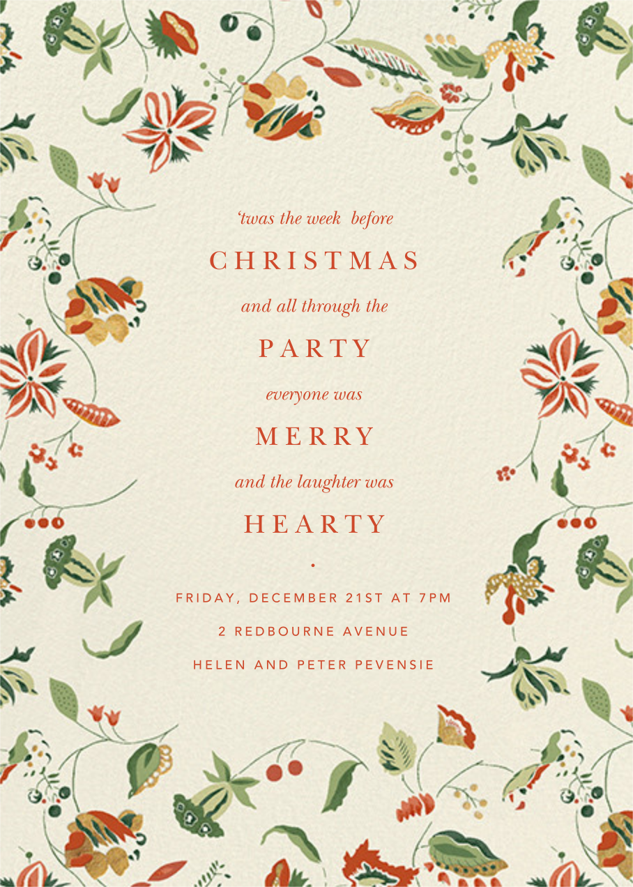 Sloane Street - Cream - Anthropologie - Holiday party