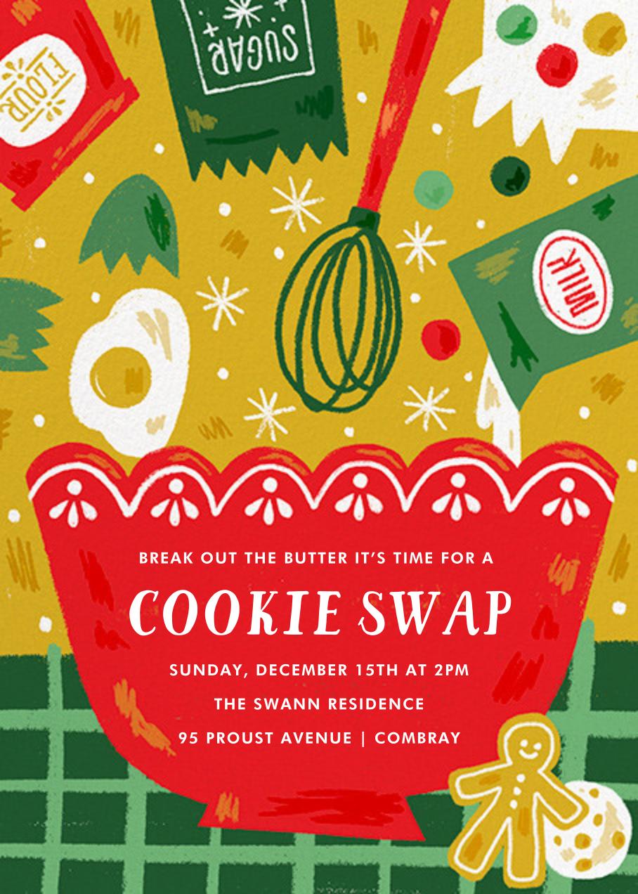 Ready Set Bake - Paperless Post - Cookie swap