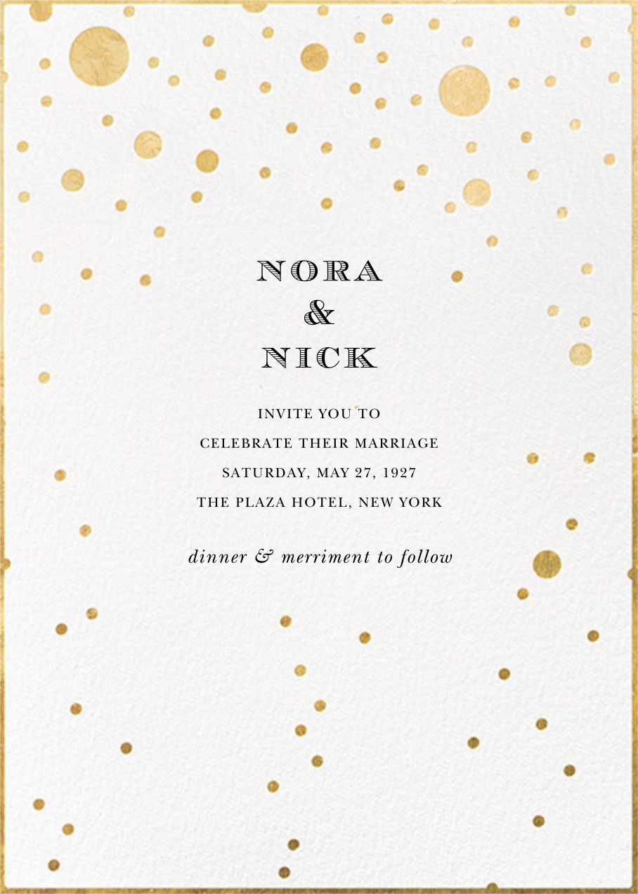 Champagne Bubbles (Single-Sided) - kate spade new york - All