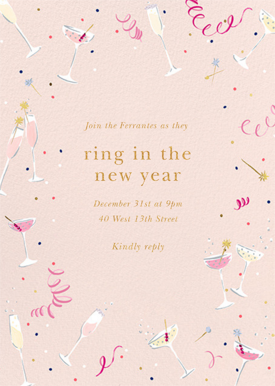 Fling Drinks - kate spade new york - New Year's Eve
