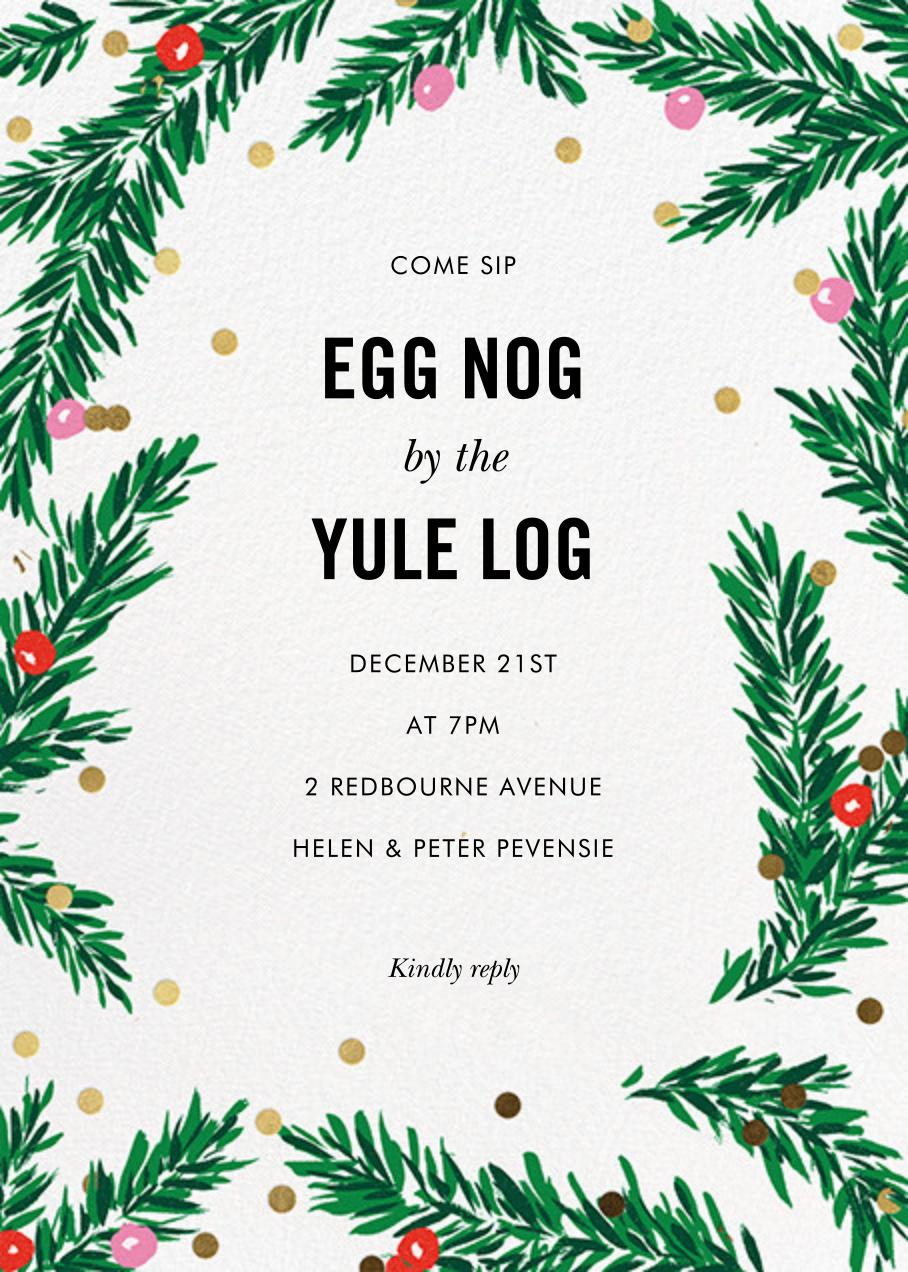 Metallic and Mistletoe - kate spade new york - Christmas party