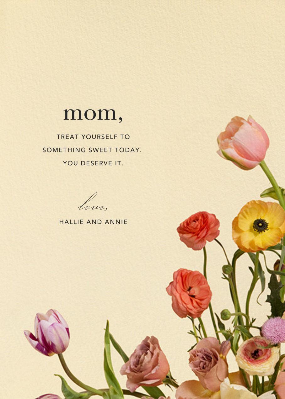 Prairial Photo - Putnam & Putnam - Mother's Day - card back