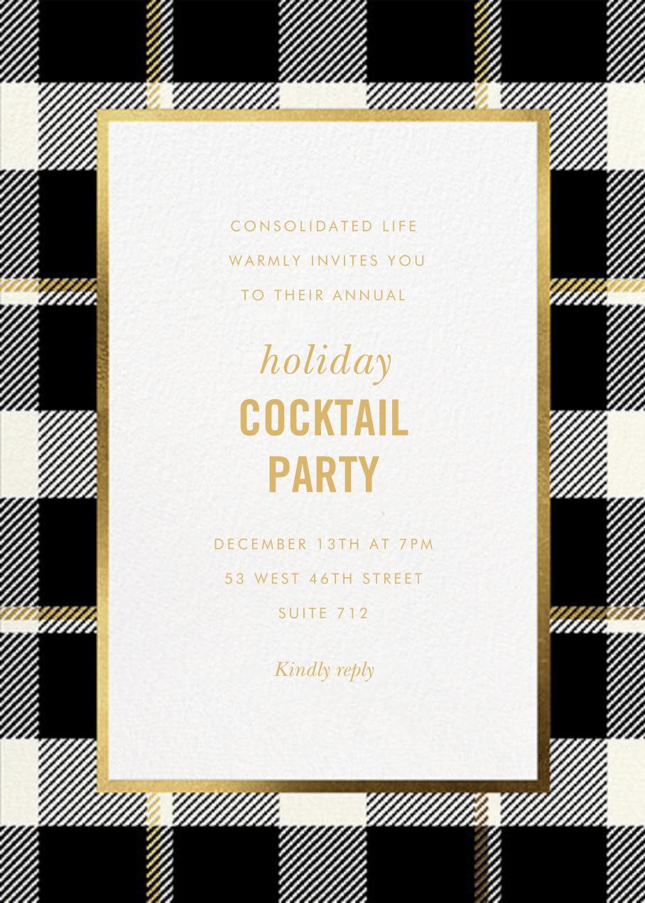 Tartan Suite - kate spade new york - Corporate invitations
