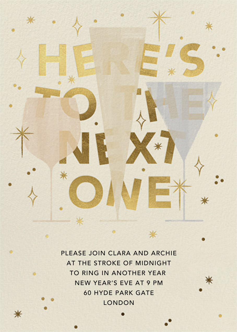 We'll Have Another - Paperless Post - New Year's Eve