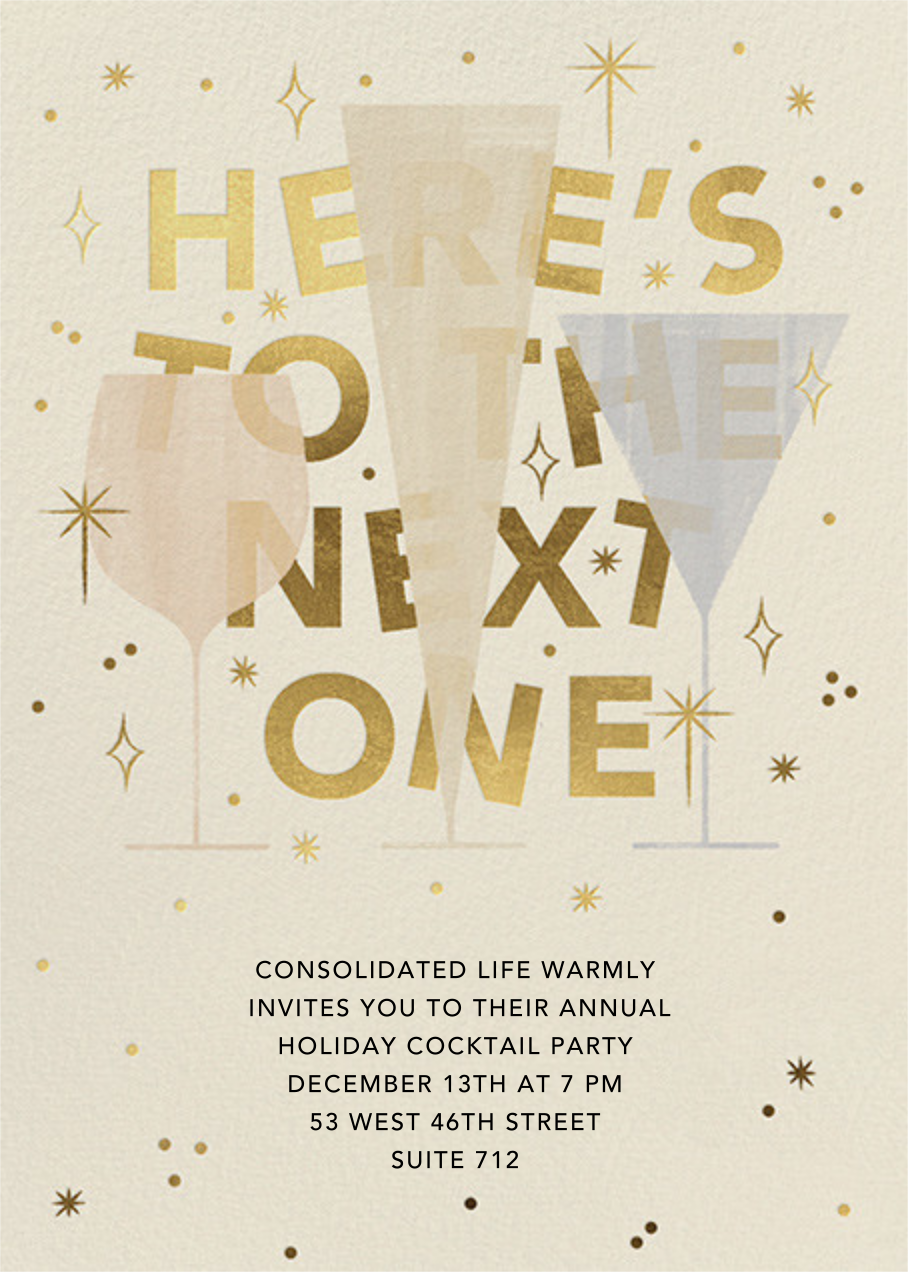 We'll Have Another - Paperless Post - Corporate invitations