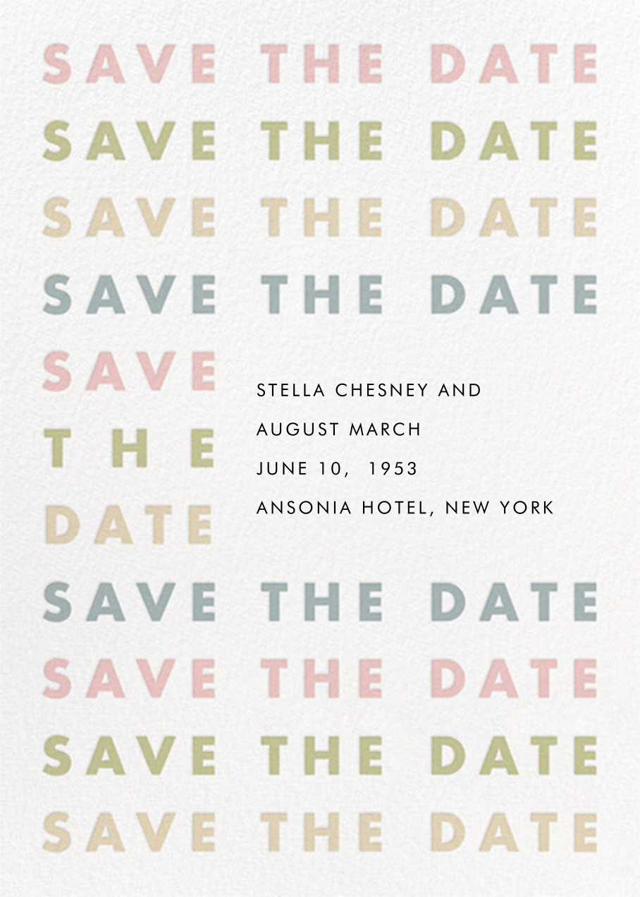Stopover - Pastel - Paperless Post - Save the date