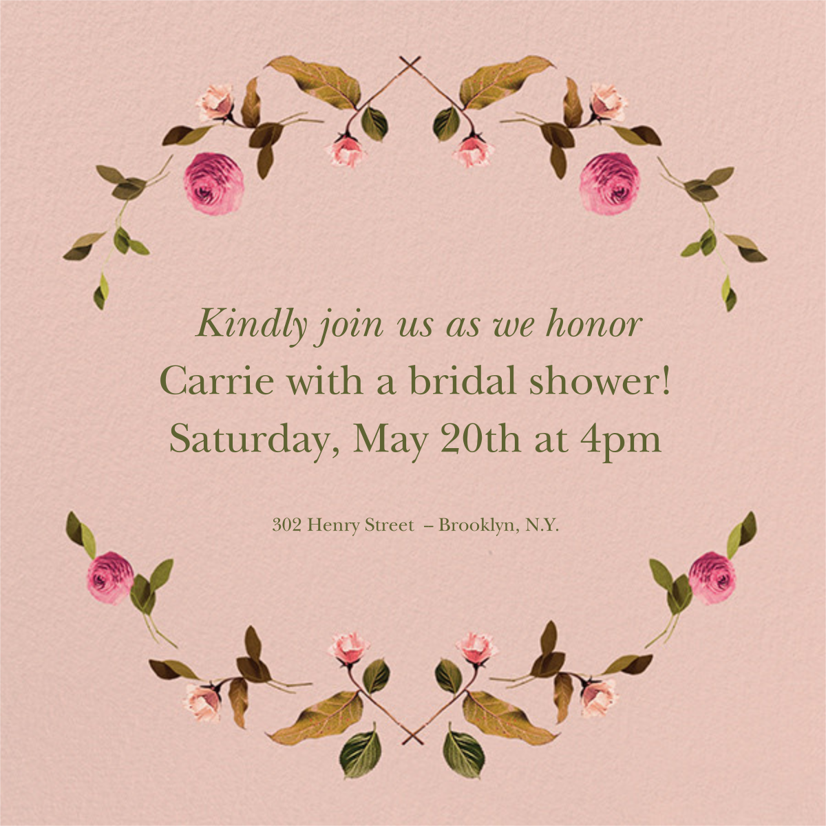 Cortile (Square) - Venamour - Bridal shower