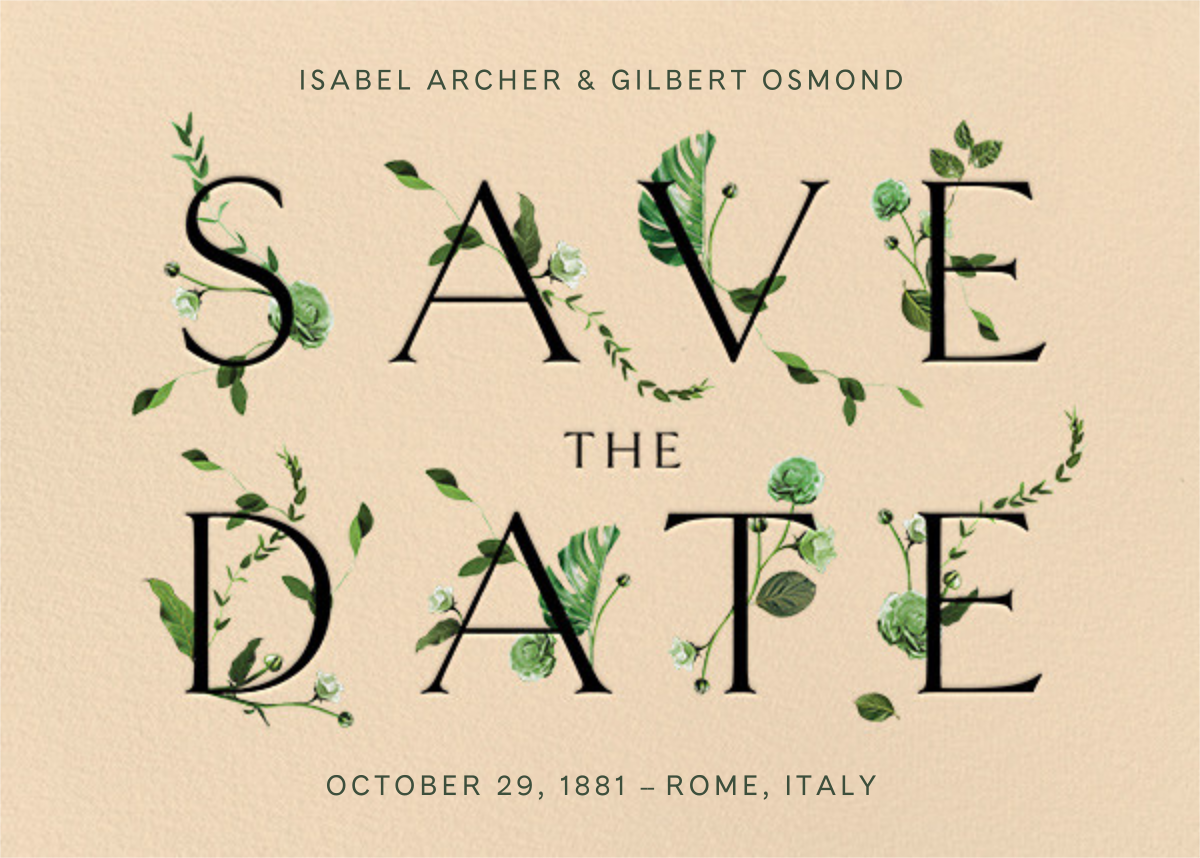 Bosco - Bellini - Venamour - Save the date