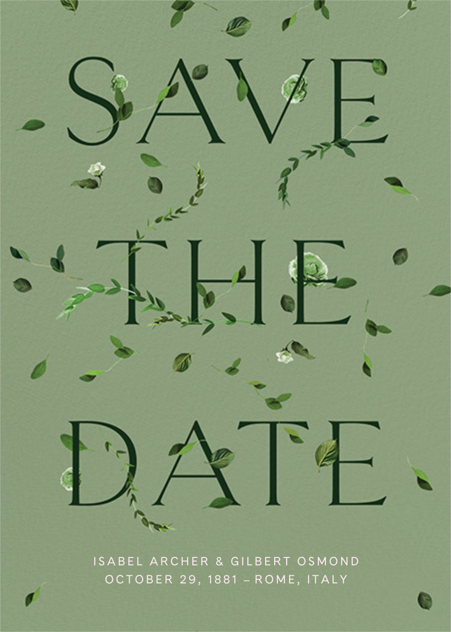 Semplici - Palm - Venamour - Save the date