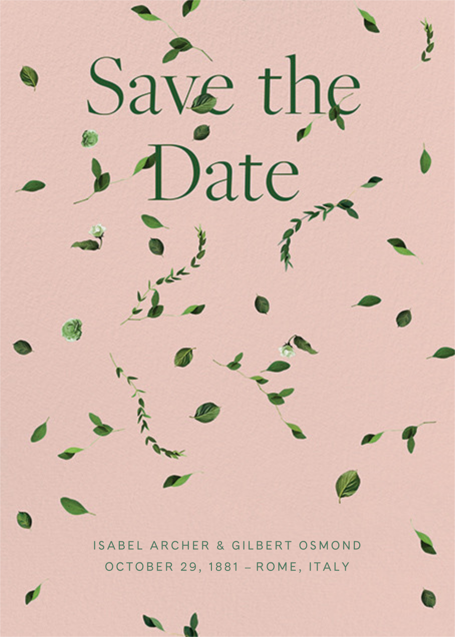 Selvatico - Pavlova - Venamour - Save the date