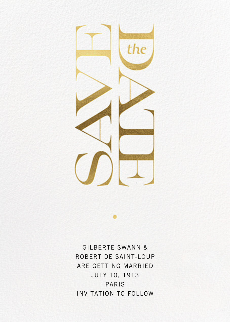 Bullae - Paperless Post - Save the date