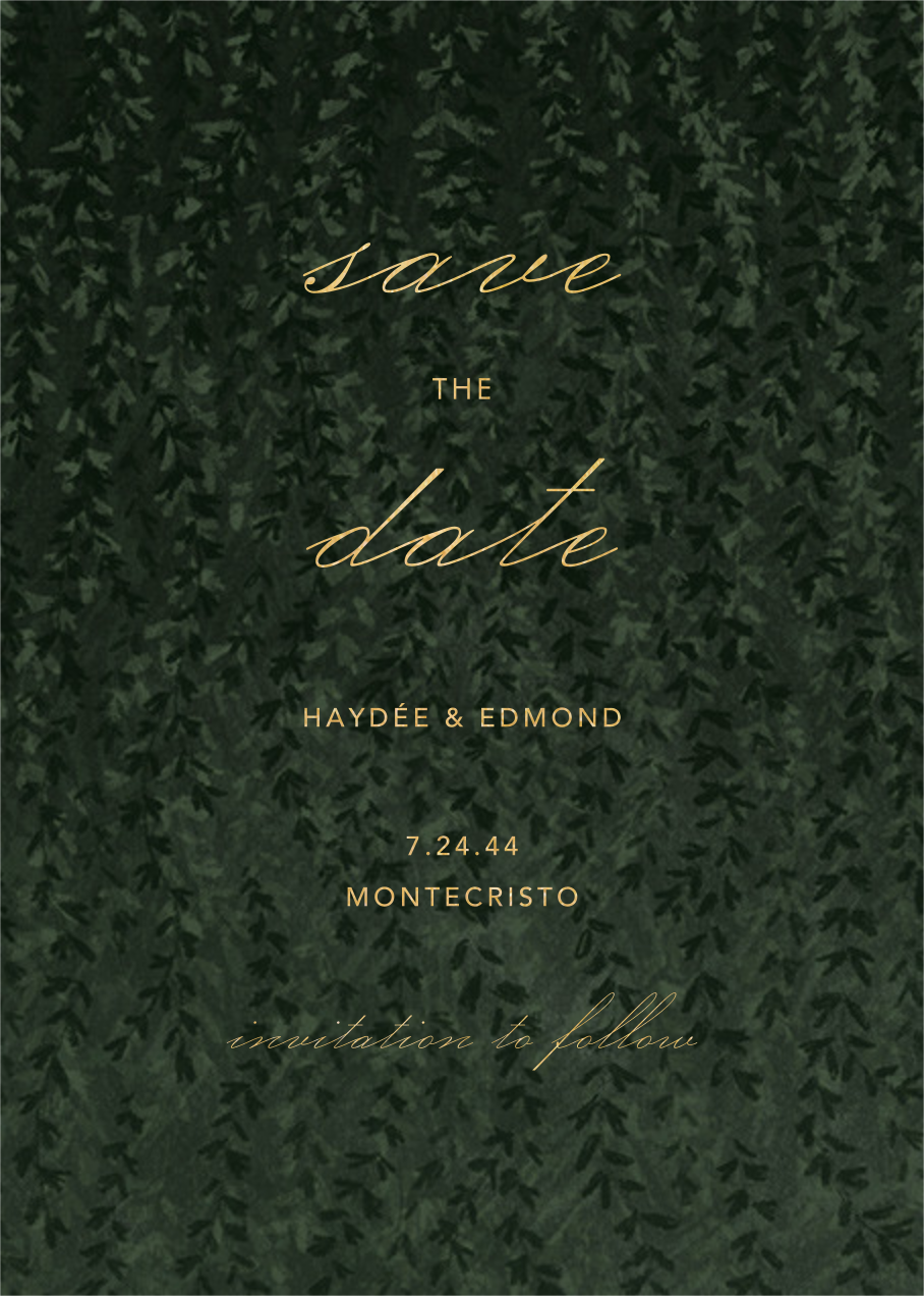 Ivalace - Paperless Post - Save the date