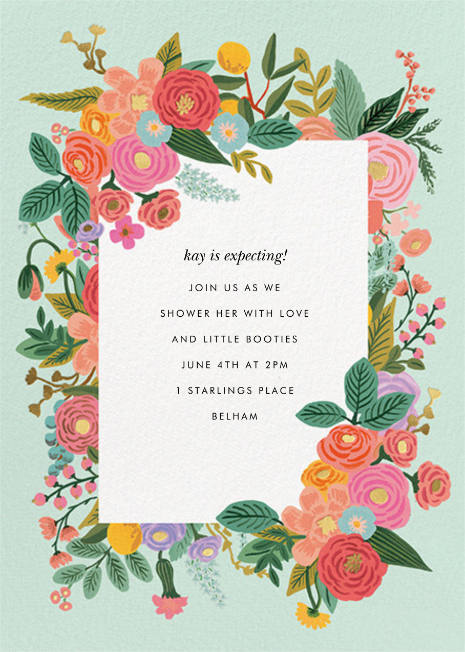 Garden Party (Tall) - Rifle Paper Co. - Baby shower