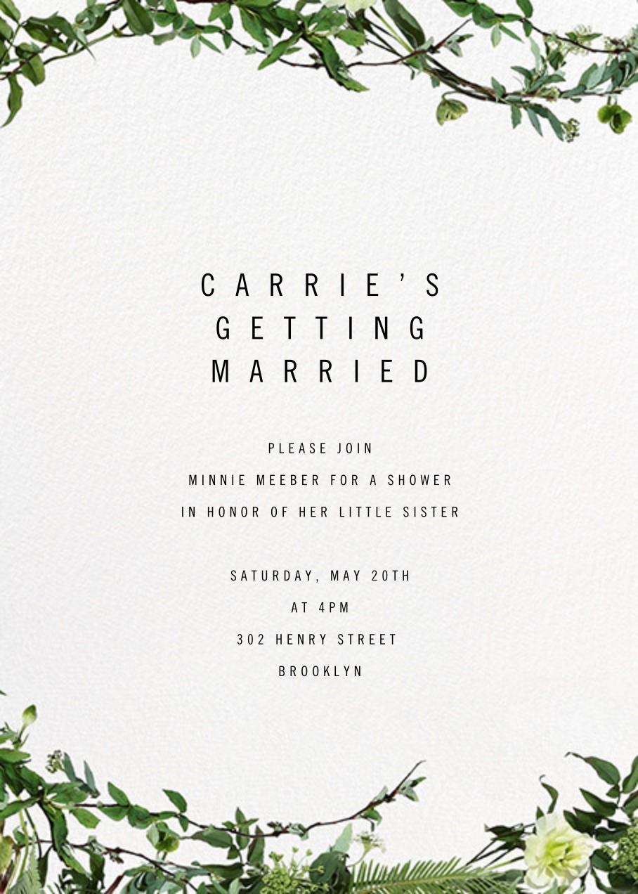 Chincoteague Vine - Paperless Post - Bridal shower