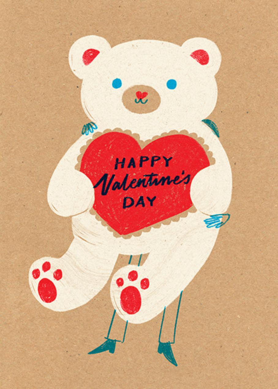 Big Bear Hunter - Paperless Post - Valentine's Day
