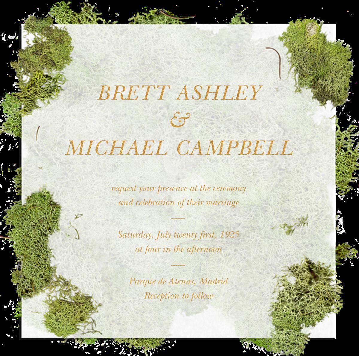 Moss Heart - Paperless Post - All