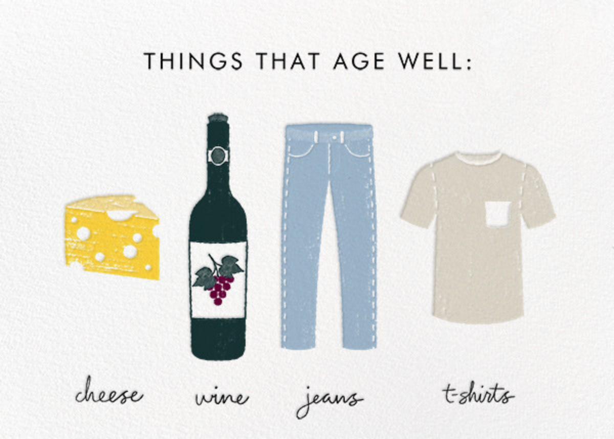Aging Gracefully - Derek Blasberg - Funny birthday eCards