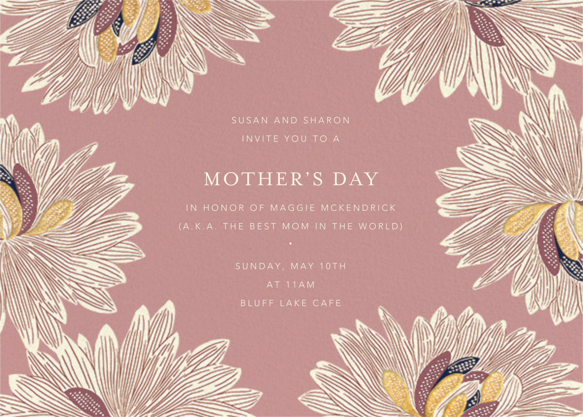 Mumsy - Tea Rose - Anthropologie - Mother's Day