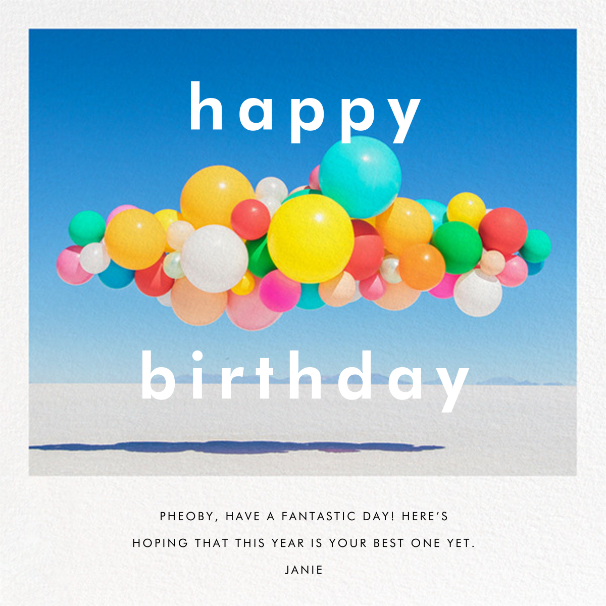 Balloon Airlift (Square) - Gray Malin - Birthday