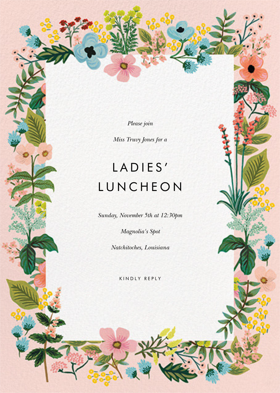 Spring Gathering - Meringue - Rifle Paper Co. - Brunch