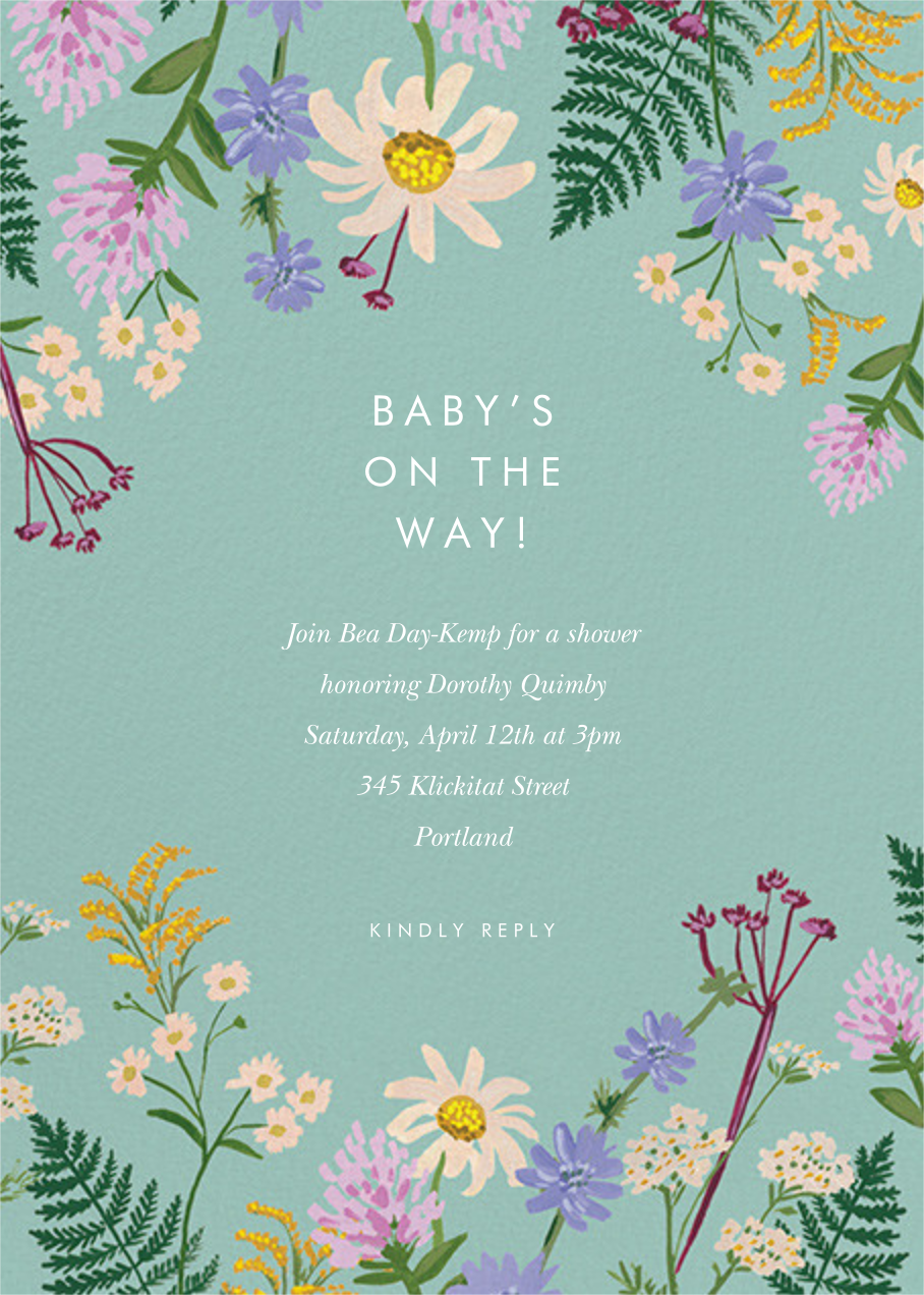 Summer Fronds  - Rifle Paper Co. - Baby shower