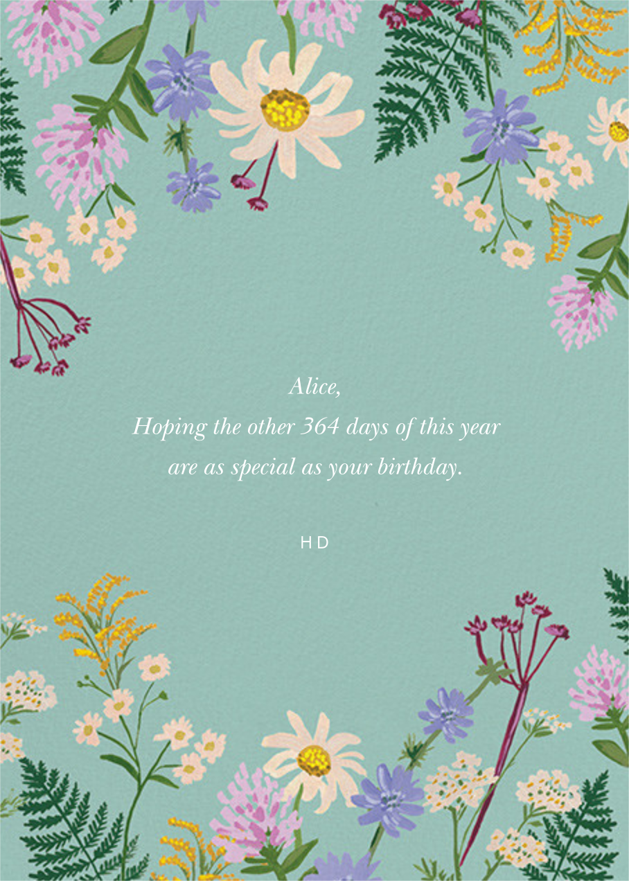 Summer Fronds - Rifle Paper Co. - Birthday