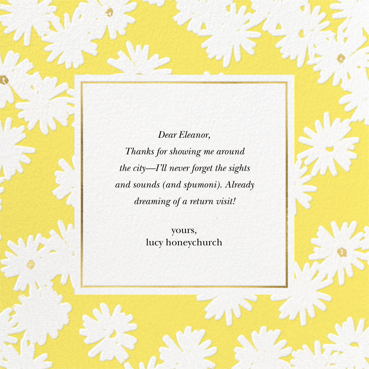 Embossed Daisies - Yellow - kate spade new york