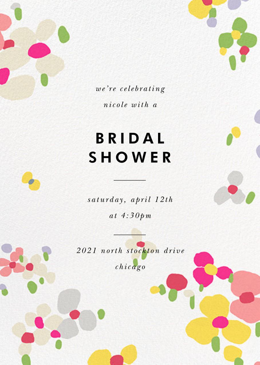 Fauvist Florals - kate spade new york - Bridal shower