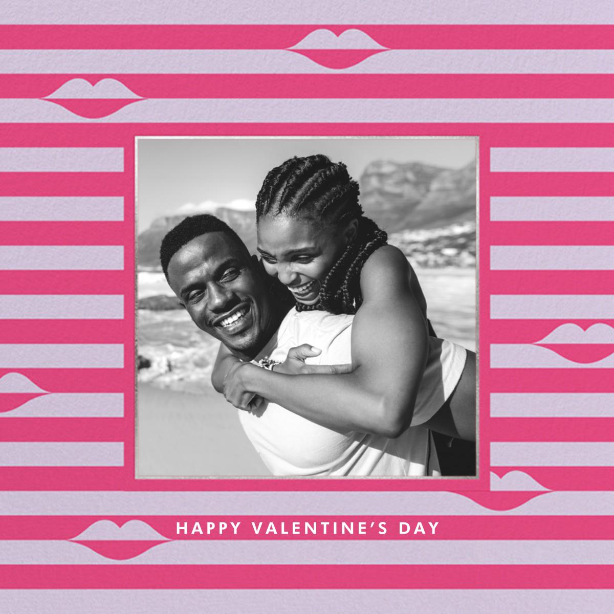Sealed Lips Photo - Pink - kate spade new york - Valentine's Day