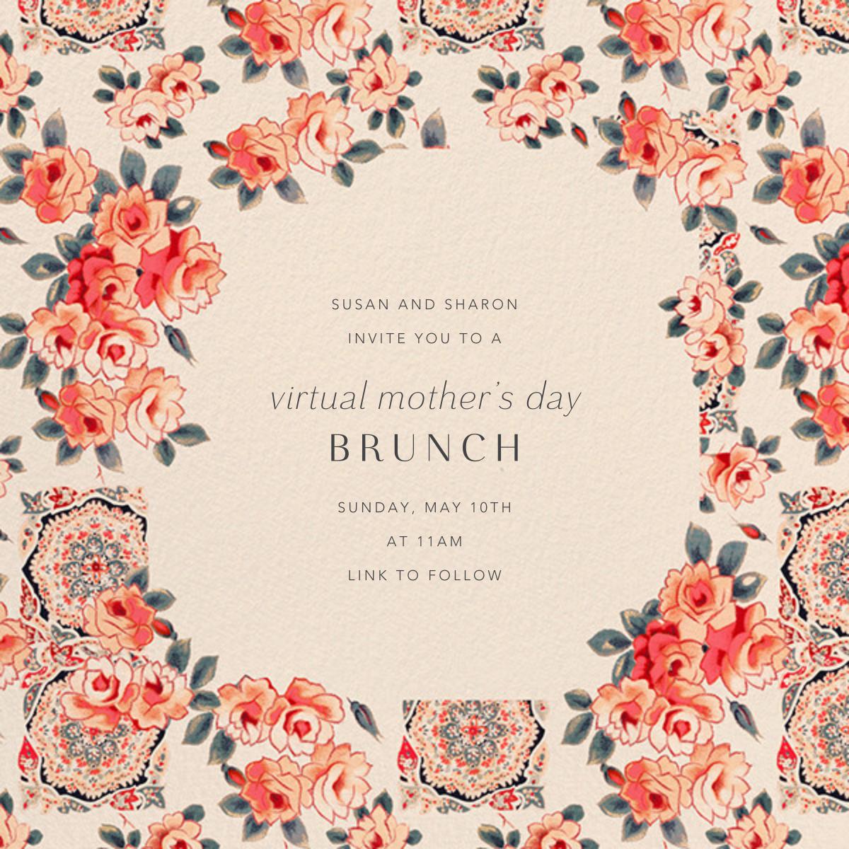 Rose Chintz - Anthropologie - Virtual parties