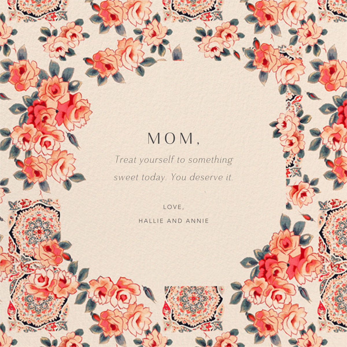 Rose Chintz - Anthropologie - Mother's Day