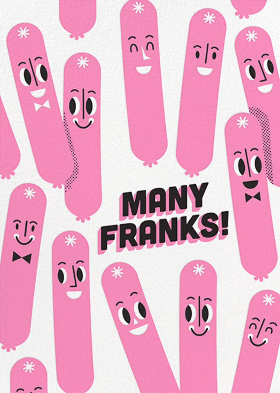 Many Franks - Hello!Lucky - Graduation thank you cards