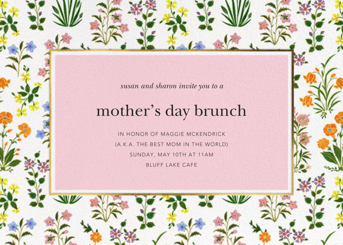 Wildflower Calico - White/Blossom - Oscar de la Renta - Mother's Day